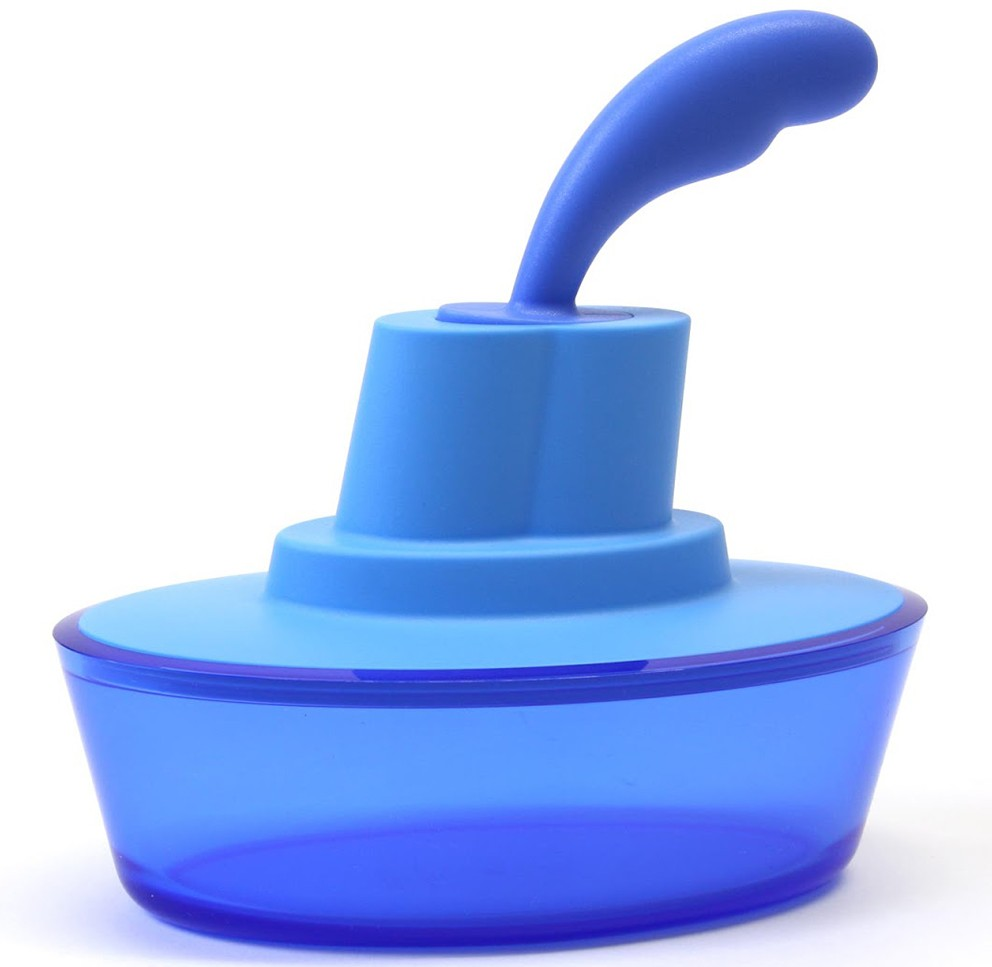 Alessi butter dish. The lid comes off to reveal a butter spoon.
