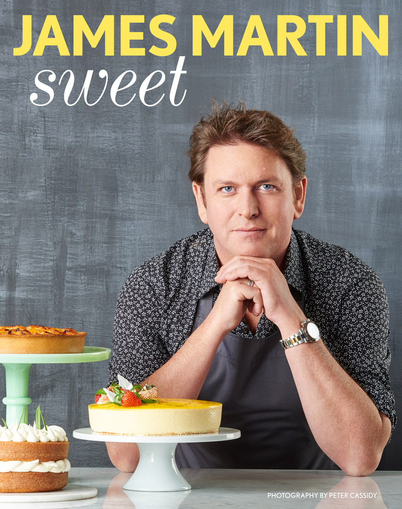 James Martin and his latest book