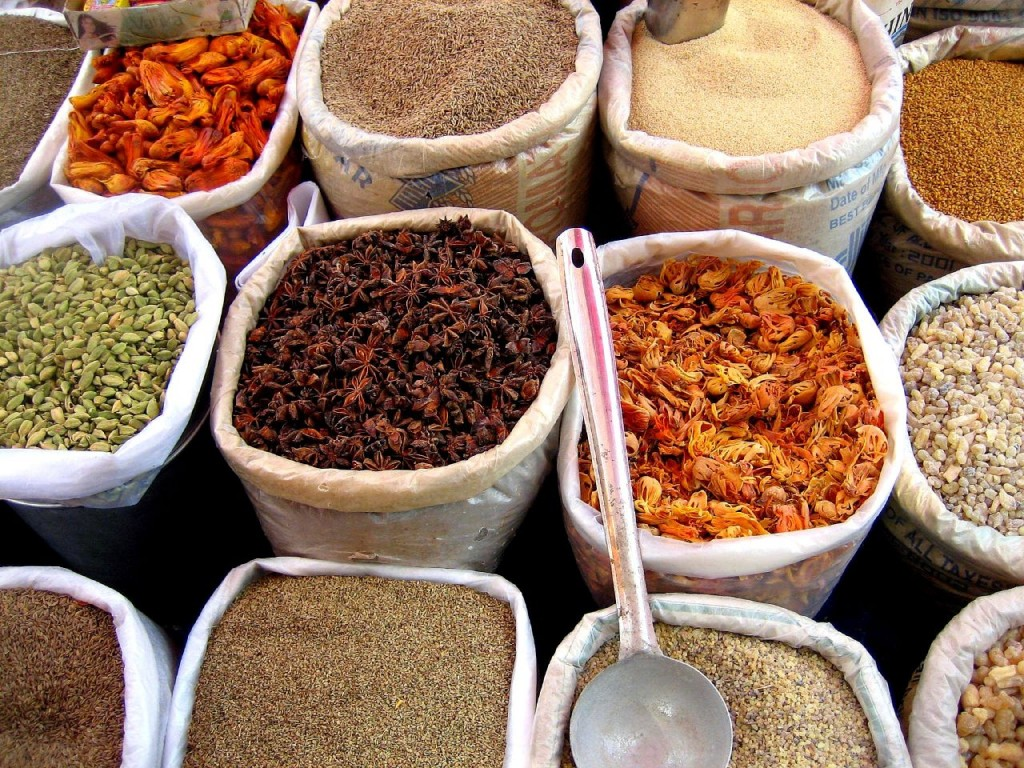 Curry spices - picture from wikipedia.