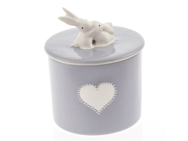 Rabbit storage jar